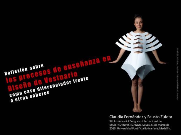 ponencia Reflexión sobre los procesos de enseñanza en Diseño de Vestuario como caso diferenciador frente a otros saberes