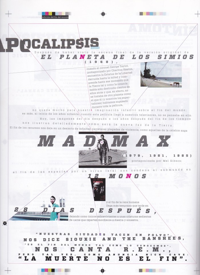 Ansiedades pre-apocalípticas y criaturas del fin delmundo